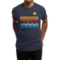 Beach Stack - mens-triblend-tee - small view
