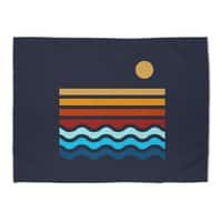 Beach Stack - rug-landscape - small view