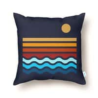 Beach Stack - throw-pillow - small view