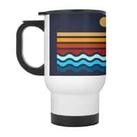 Beach Stack - travel-mug-with-handle - small view
