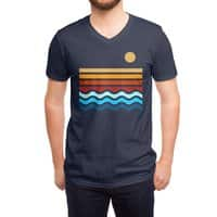 Beach Stack - vneck - small view