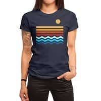 Beach Stack - womens-regular-tee - small view