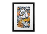 Mecha Otaku - black-vertical-framed-print - small view