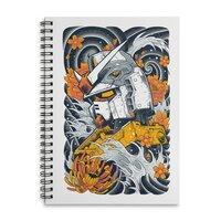 Mecha Otaku - spiral-notebook - small view