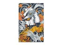 Mecha Otaku - vertical-stretched-canvas - small view