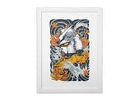 Mecha Otaku - white-vertical-framed-print - small view