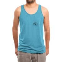 Sad Seal - mens-triblend-tank - small view