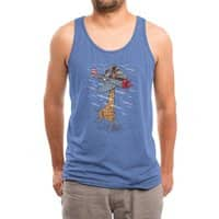 Let your dream fly - mens-triblend-tank - small view