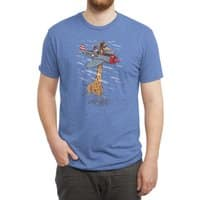Let your dream fly - mens-triblend-tee - small view