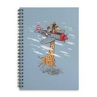Let your dream fly - spiral-notebook - small view