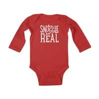 The Snuggle is Real - baby-long-sleeve-bodysuit - small view