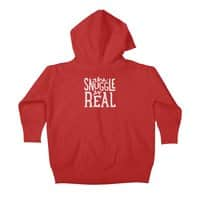 The Snuggle is Real - baby-zip-up-hoody - small view