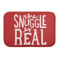 The Snuggle is Real - bath-mat - small view