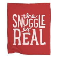 The Snuggle is Real - blanket - small view