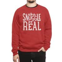 The Snuggle is Real - crew-sweatshirt - small view