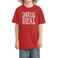 The Snuggle is Real - kids-tee - small view