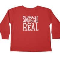 The Snuggle is Real - longsleeve - small view