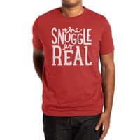 The Snuggle is Real - mens-extra-soft-tee - small view