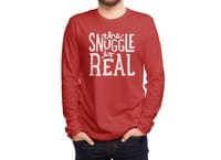 The Snuggle is Real - mens-long-sleeve-tee - small view