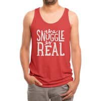 The Snuggle is Real - mens-triblend-tank - small view