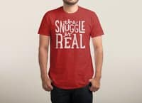 The Snuggle is Real - mens-triblend-tee - small view