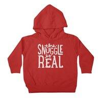 The Snuggle is Real - toddler-pullover-hoody - small view