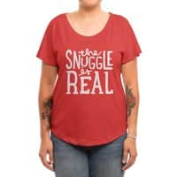 The Snuggle is Real - womens-dolman - small view