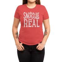 The Snuggle is Real - womens-triblend-tee - small view