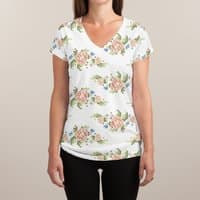 Kitsch never killed anyone - womens-sublimated-v-neck - small view