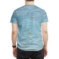 golden paper ships - mens-sublimated-tee - small view