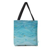 golden paper ships - tote-bag - small view