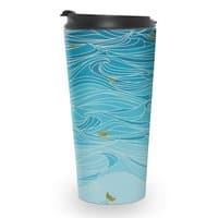 golden paper ships - travel-mug - small view