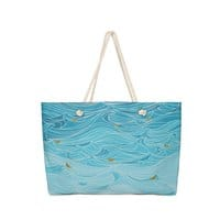 golden paper ships - weekender-tote - small view