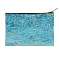 golden paper ships - zip-pouch - small view