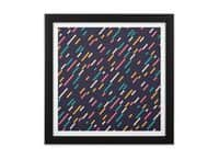 Hectic Rain - black-square-framed-print - small view
