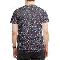 Hectic Rain - mens-sublimated-tee - small view