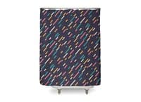 Hectic Rain - shower-curtain - small view