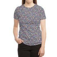 Hectic Rain - womens-sublimated-triblend-tee - small view