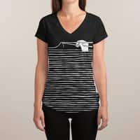 Noodles are forever - womens-sublimated-v-neck - small view