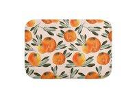 Sonnige Orange  - bath-mat - small view