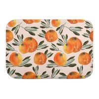 Sonnige Orange  - bath-mat - small view