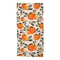 Sonnige Orange  - beach-towel - small view