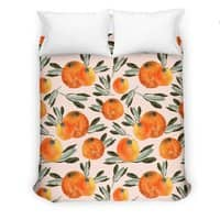 Sonnige Orange  - duvet-cover - small view