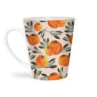 Sonnige Orange  - latte-mug - small view