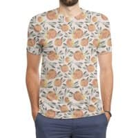 Sonnige Orange  - mens-sublimated-triblend-tee - small view
