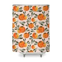Sonnige Orange  - shower-curtain - small view