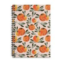 Sonnige Orange  - spiral-notebook - small view