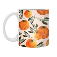 Sonnige Orange  - white-mug - small view
