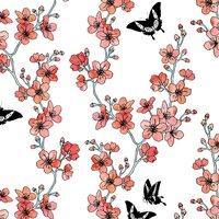 Sakura Butterflies - small view