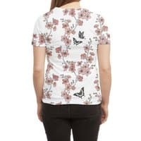 Sakura Butterflies - womens-sublimated-triblend-tee - small view